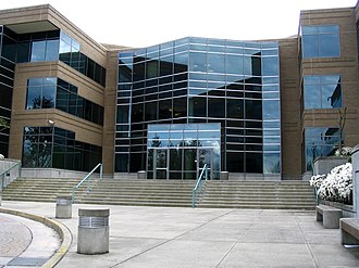 Microsoft - Building 17 on the Microsoft Redmond campus in Redmond, Washington