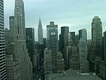Midtown Manhattan- skyscrapers and greenery-fab view of Chrysler building and Bryant Park from -140conf meetup at Met Life Building.jpg