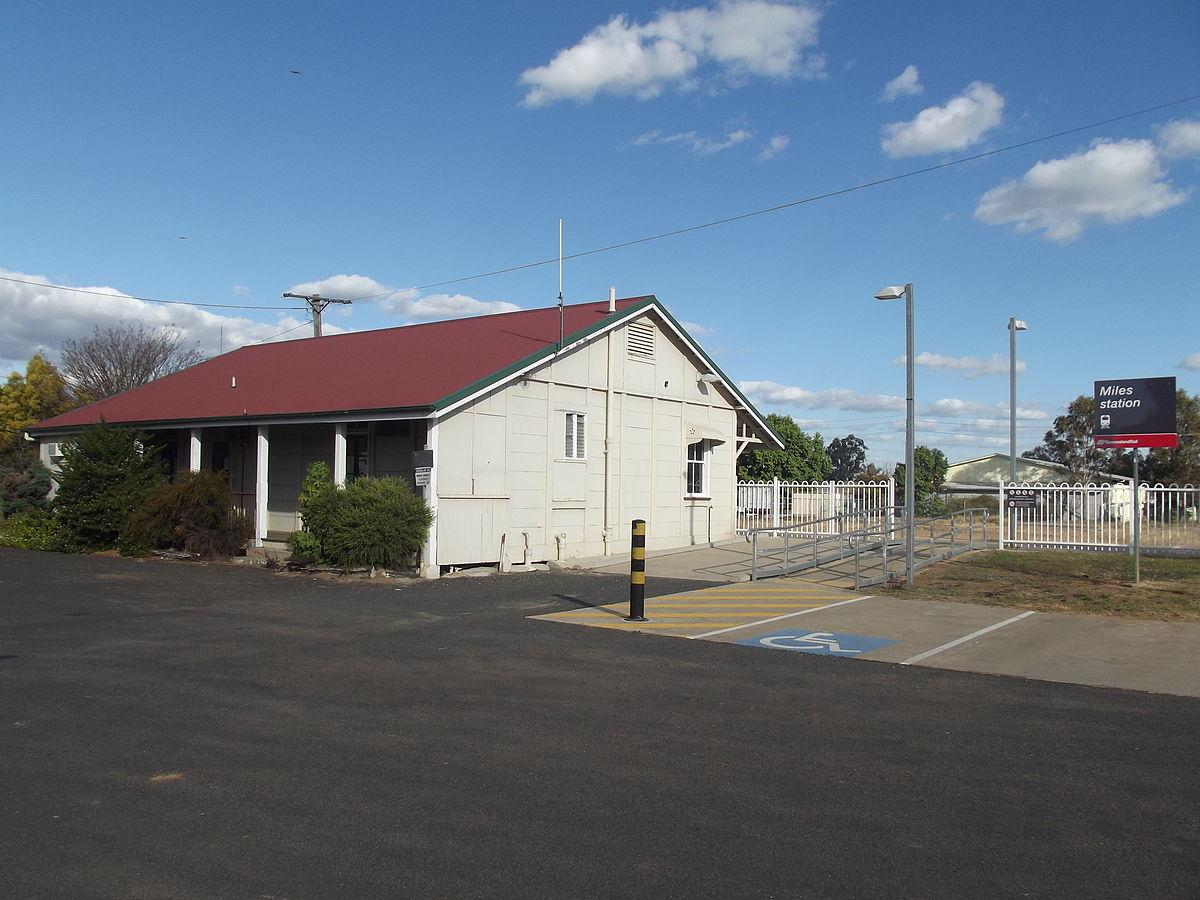 Miles Railway Station Wikipedia