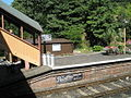 Milkchurns on the platform at Bewdley Station - geograph.org.uk - 1454680.jpg