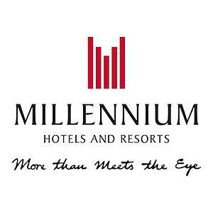 Millennium & Copthorne Hotels - Image: Millennium Hotels And Resorts Logo With Tagline sq