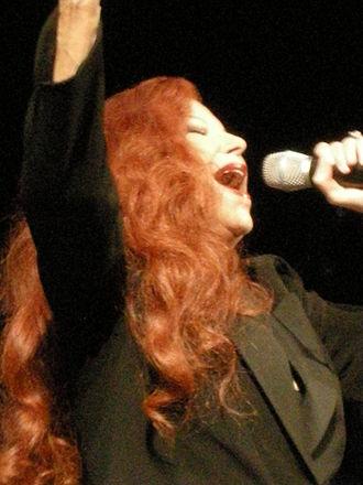 Milva - Milva performing live, 31 January 2009