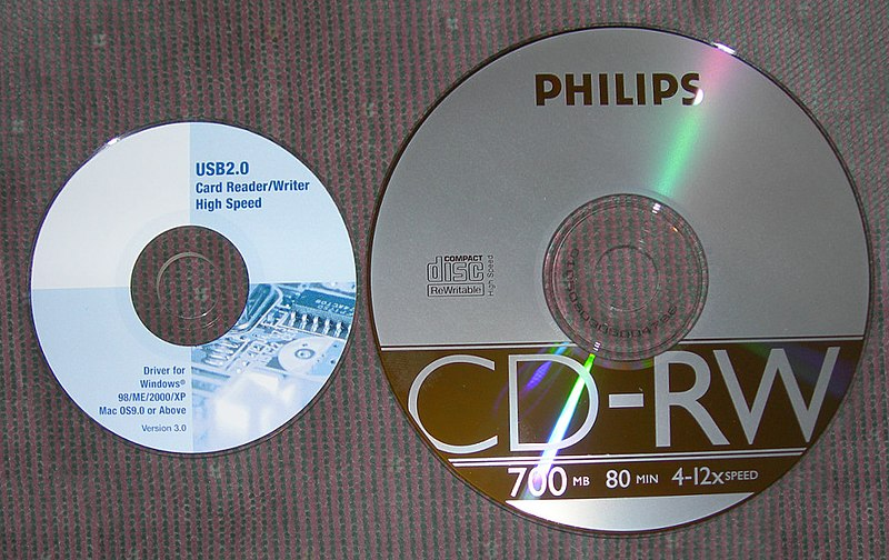 File:Mini CD vs Normal CD comparison.jpg