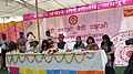Minister of State for Information & Broadcasting, Col. Rajyavardhan Singh Rathore at Beti Bachao Beti Padhao Special Outreach programme, organised by the DFP, at Dhankya, in Jaipur on March 14, 2015.jpg