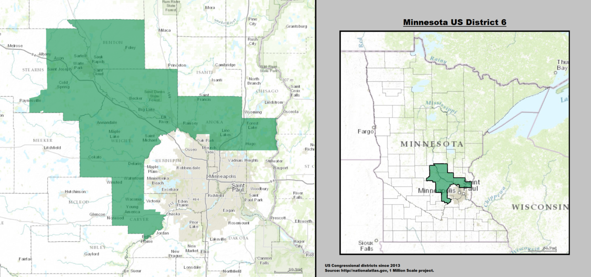 Minnesota's 6th congressional district - Wikipedia