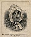 Miss Margaret Bailey, aged 111. Reproduction of a wood engra Wellcome V0006970.jpg