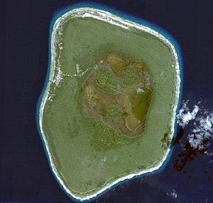 Mitiaro - Image: Mitiaro Aerial