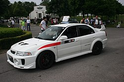 Mitsubishi Lancer Evolution V at Goodwood.jpg