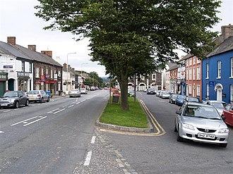 Moira, County Down - Image: Moira Main Street