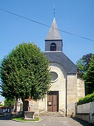 The church in Monceaux