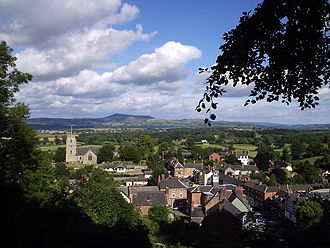 Montgomery, Powys - Image: Montgomery