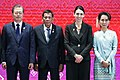 Moon, Duterte, Ardern and Aung San Suu Kyi at 14th East Asia Summit.jpg