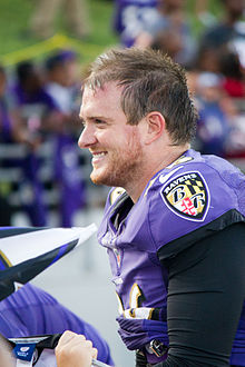 Morgan cox football baltimore ravens famous celebrity greek fraternity bro FIJI