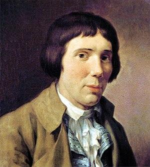 Friedrich Rehberg - Portrait of Karl Philipp Moritz (1790)