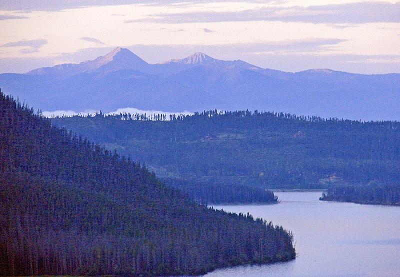 File:Morning Blush over Shadow Mountain Lake, CO 8-12 (16265324587).jpg