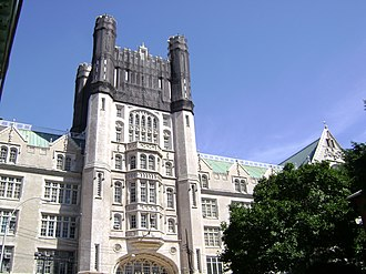 Morris High School (Bronx) - Image: Morris High School Historic District, Roughly bounded by Boston Rd., Jackson and Forrest Aves., and E. 166th and Home Sts. Morrisania, Bronx County, New York