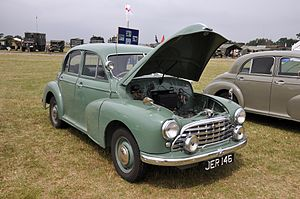 Morris Oxford MO - Image: Morris Oxford MO saloon 1950 3671562245
