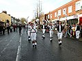Morris dancers in Mill Road - geograph.org.uk - 1606552.jpg