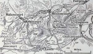 Georges de Bazelaire - Mort-Homme and Cote 304, Verdun, 1917