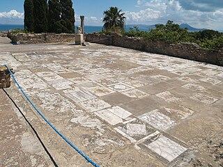 Horses' mosaïc of Carthage