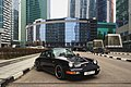 Moscow, black Porsche parked in Moscow-City (31032729005).jpg