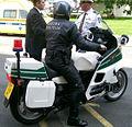 Motociklist Vojne policije HV.jpg