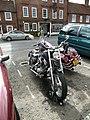 Motorbikes opposite The Griffin - geograph.org.uk - 2254881.jpg
