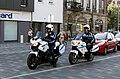 Motos de la police municipale de Strasbourg, Neudorf 2013.JPG