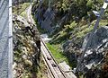 Mount Floyen funicular from the summit, Bergen, Norway.jpg