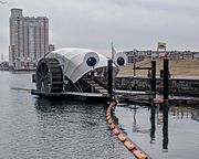 Mr. Trash Wheel--Baltimore MD