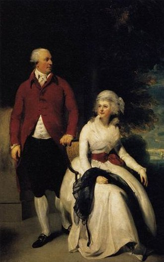 George Payne (Freemason) - Image: Mr and Mrs John Julius Angerstein