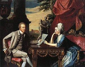 Ralph Izard - Image: Mr and Mrs Ralph Izard by John Singleton Copley 1775