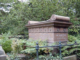 Ellen Wood (author) - Mrs Henry Wood's tomb, Highgate Cemetery
