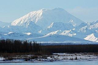 Mount Foraker Mountain in Alaska, United States