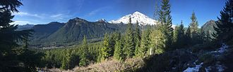 Mount Rainier National Park - Mount Rainier National Park panorama
