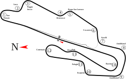 Mugello Racing Circuit track map.svg