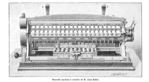 Léon Bollée - Léon Bollée's Multiplier