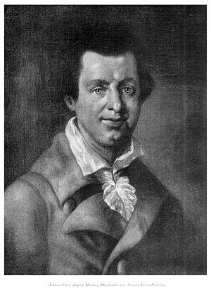 Johann Karl August Musäus - Johann Karl August Musäus
