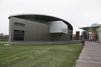 Van Gogh Museum - Museum at the Museumplein in 2008