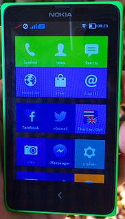 Nokia X family Range of smartphones