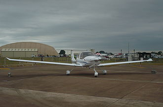 United States Air Force Academy - DA40 of USAFA at RIAT 2010.