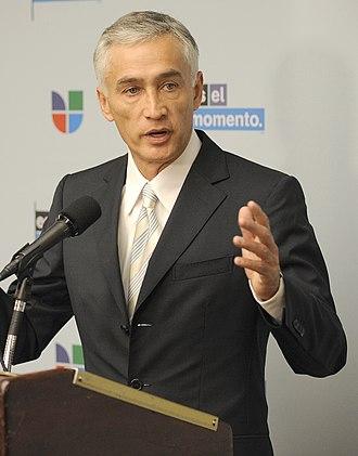 Jorge Ramos (news anchor) - Ramos speaker for NASA's Hispanic Education Campaign, January 2010