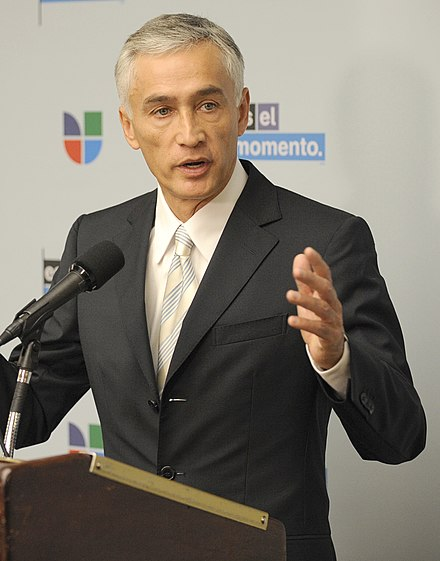Univision anchor Jorge Ramos was detained by the Maduro administration in February 2019 after a live interview. NASA Univision Hispanic Education Campaign DVIDS858679 (cropped).jpg