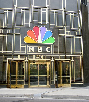 NBC Tower front entrance in Chicago