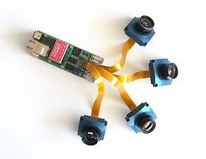 Elphel - NC393 multisensor camera kit, for developers