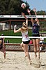 NCAA beach volleyball match at Stanford in 2017 (33048587980).jpg