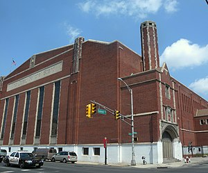 Jersey City Armory - Image: NJNG armory Summit Montgomery jeh