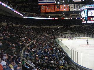 Nassau Coliseum Arena in New York, United States