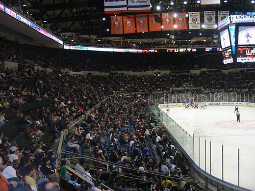 View of the Coliseum's seating during an Islanders game NVMC 5.jpg
