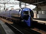 Nankai 50000 Rapit in Tengachaya Station3 DSCN3295 20120831.JPG